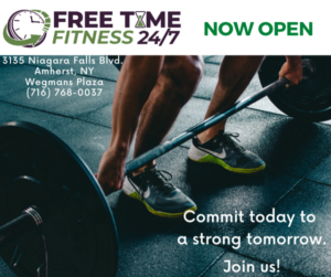 Commit today Free Time Fitness