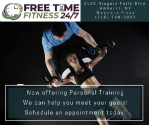 Personal Training Facebook Post